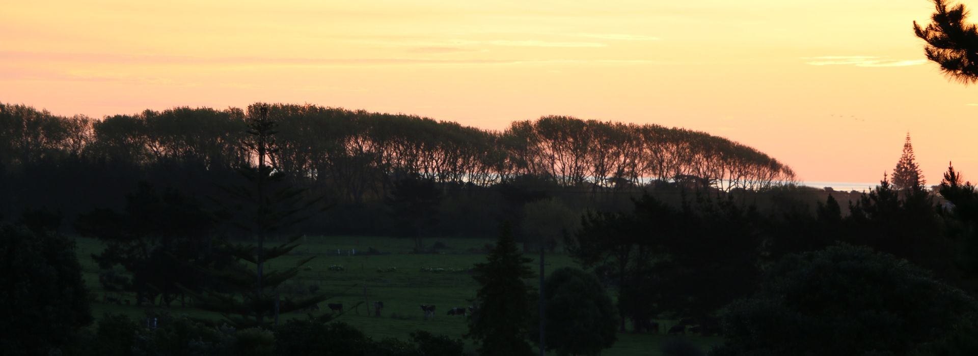 Sunset at Otaki